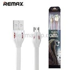 CABLE USB CHO IPHONE 6 REMAX 1m RC035i (dẹp trắng)